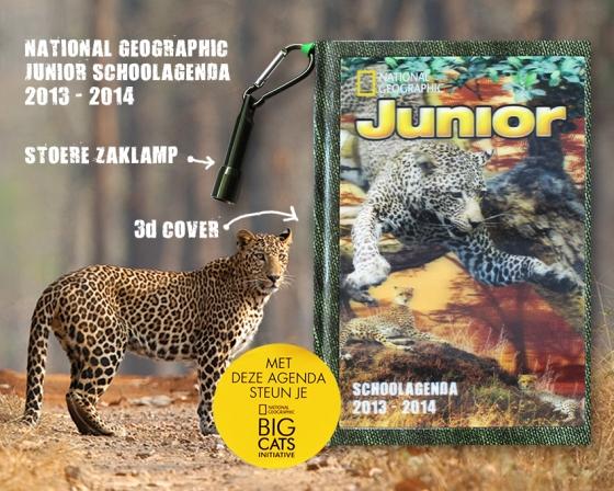 National Geographic Junior Agenda2013-2014