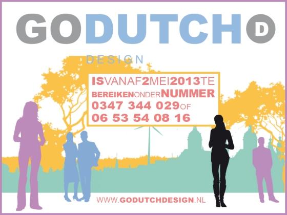 Nieuw telefoonnummer GoDutchDesign