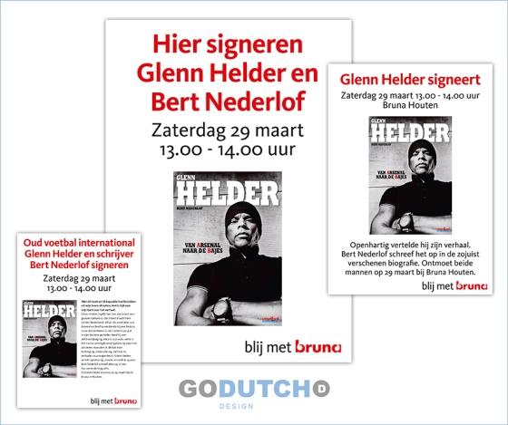 Glenn Helder signeert