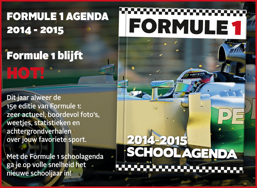 Formule 1 Schoolagenda 2014 –2015