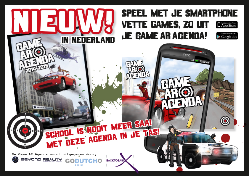 NIEUW in Nederland! Game Ar Agenda 2014 –2015