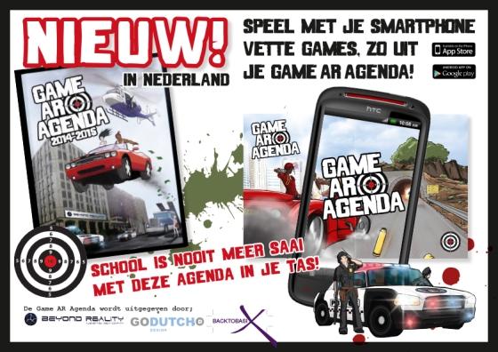 NIEUW in Nederland! Game Ar Agenda 2014 - 2015