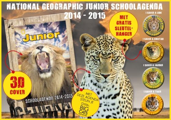 National Geographic Junior Schoolagenda 2014 - 2015